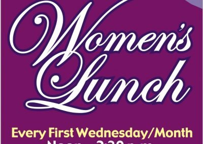 MOUNTAIN CHRISTIAN FELLOWSHIP – Fall Women's Luncheon