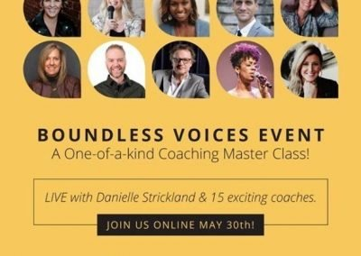 BOUNDLESS VOICES Communications Coaching Online Event – May 30, 2020 – 9am PST
