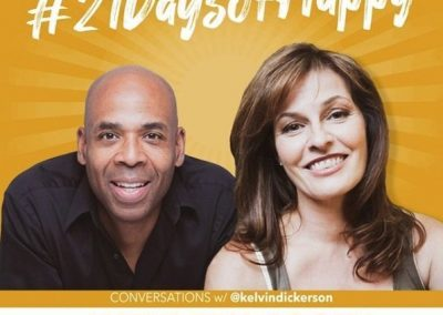 21 Days of Happy LIVE Webinar – May 21, 12pm PST