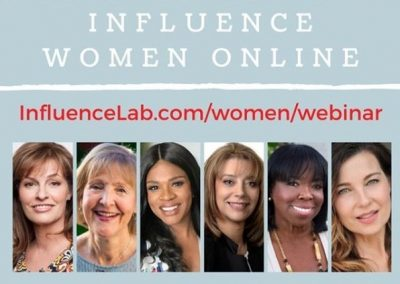 Influence Lab Women's Webinar On Demand
